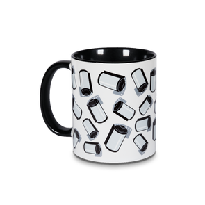 35mm Black & White Film Rolls 11oz. Accent Mug - Shoot Film Co.