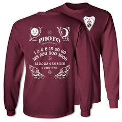 Light Capturing Oracle Ouija Board Long Sleeve Ultra Cotton T-Shirt