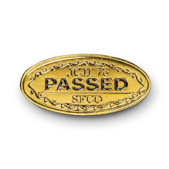 JCII PASSED Lapel Pin - Shoot Film Co.