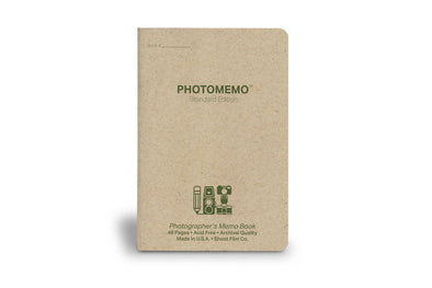 PhotoMemo Photographer's Memo Book SINGLE - Shoot Film Co.