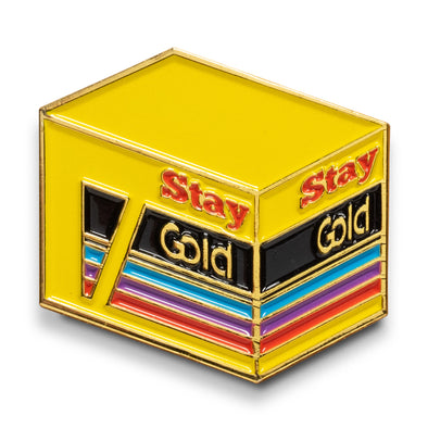 Stay Gold Lapel Pin - Shoot Film Co.
