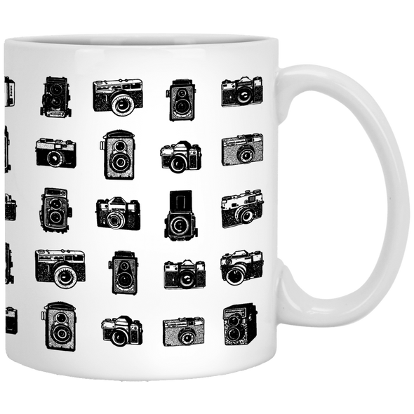 Camera Collection PERSONALIZED 11 oz Ceramic Mug - Shoot Film Co.