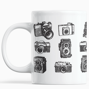 Vintage Cameras 11 oz. Mug - Shoot Film Co.