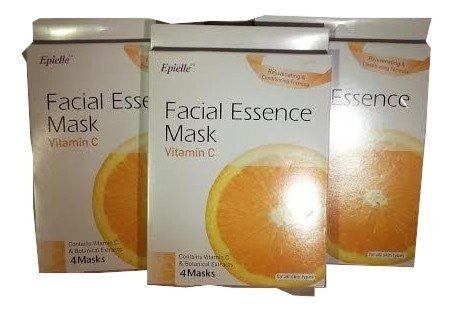 Facial Essence Mask, Firming & Lifting with Vitamin C (12 Count)