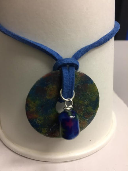 Royal Blue Handmade Necklace