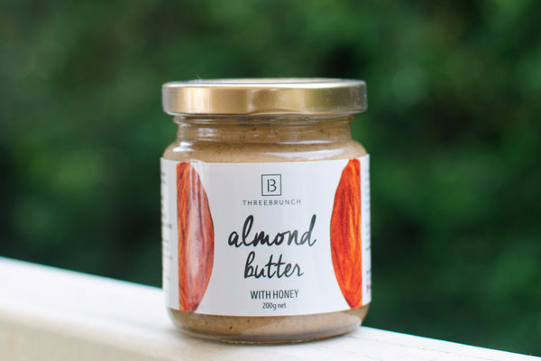 ThreeBrunch Almond Butter with Honey