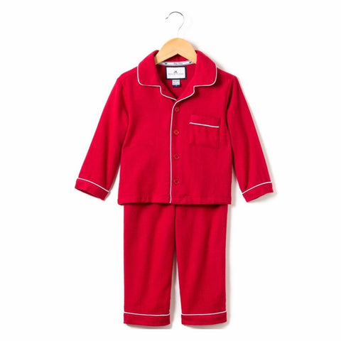 Classic Red Flannel Pajama Set (size 6/12m)