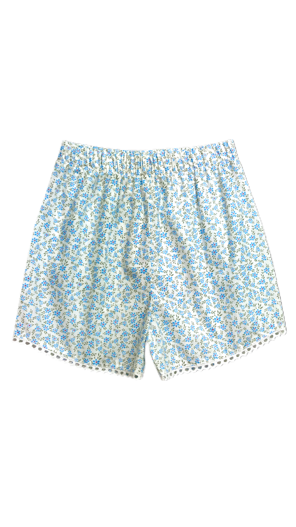 Emma Eyelet Short- Keeping Blooming