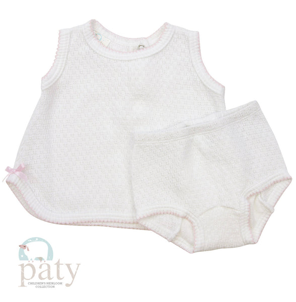 Sleeveless Diaper Set (Multiple Colors)
