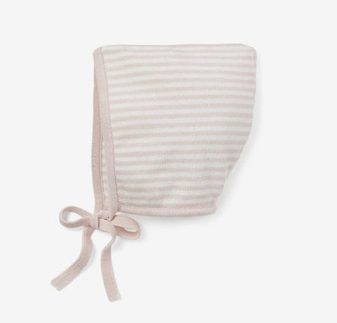 Mini Stripe Blush Bonnet
