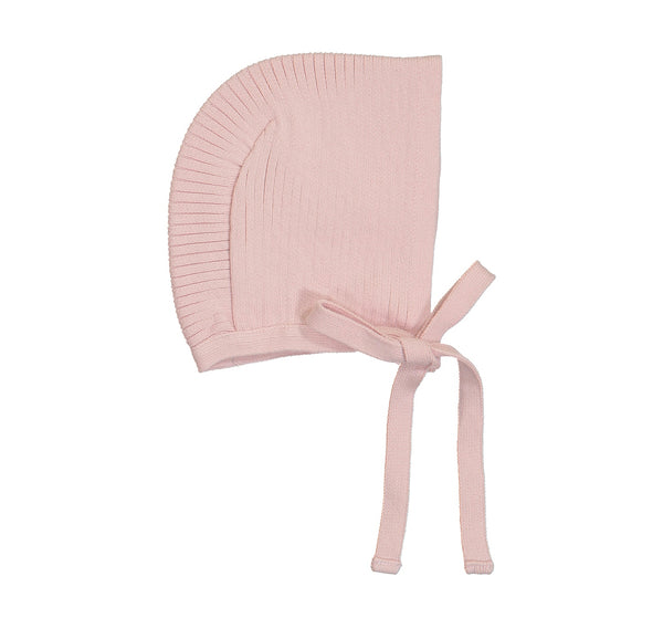 Ribbed Knit Bonnet- (Multiple Colors)