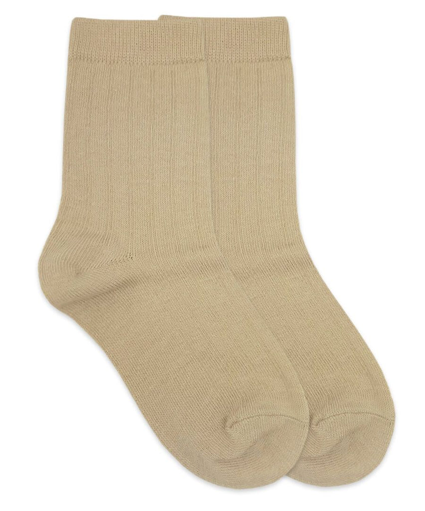 Rib Crew Socks - Blue Bonnet