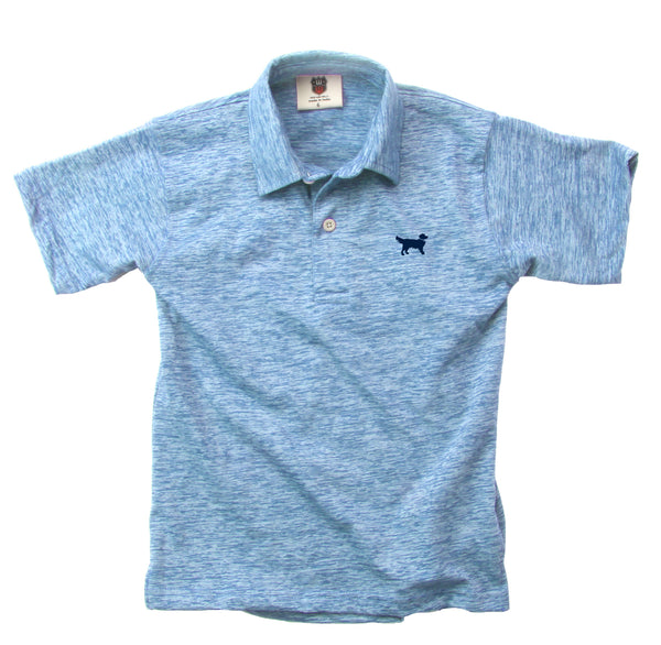 Cloudy Yarn Polo- NC Polo