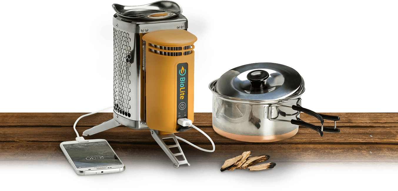 BioLite CampStove | Burn Wood, Cook Meals & Charge Devices