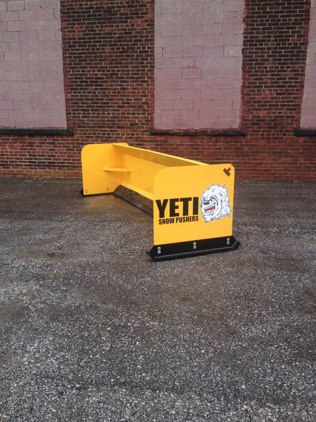 YETI SNOW BEAST - 12 FT SKIDSTEER SNOW PUSHER | SNOW PUSH BOX