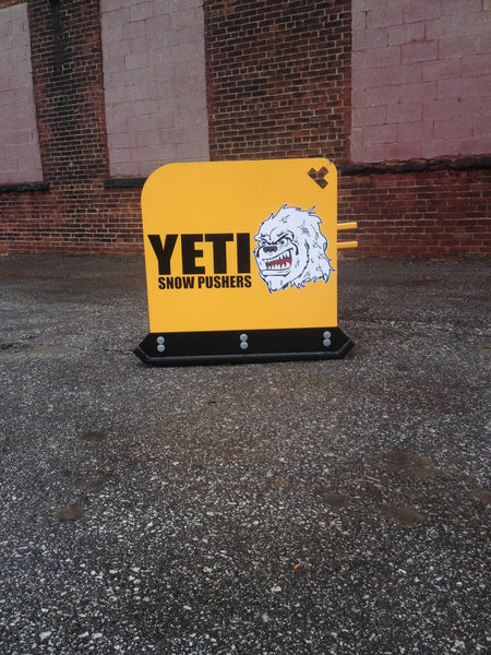 Yeti Snow Pusher for Skid Steer