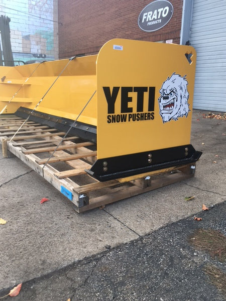 YETI ABOMINABLE - 14 FT BACKHOE SNOW PUSHER | SNOW PUSH BOX