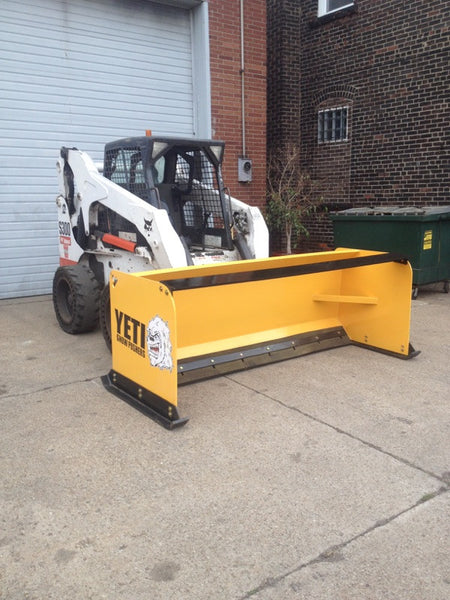 8 foot Skid Steer Snow Pusher