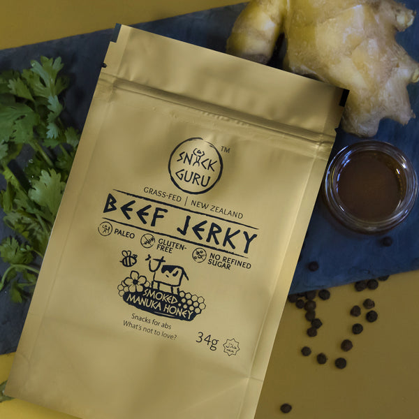 Beef Jerky (Halal) - Smoked Manuka Honey