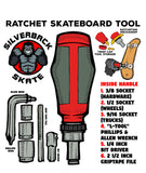 RATCHET SKATE TOOL (RED)