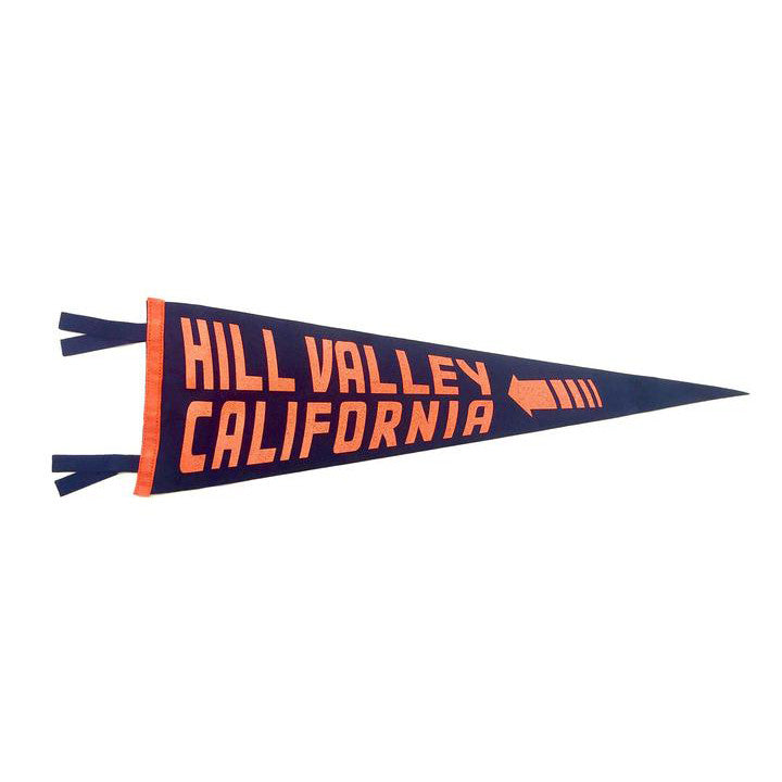 Hill Valley, CA Pennant