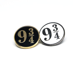 Nine and Three-Quarters Pin