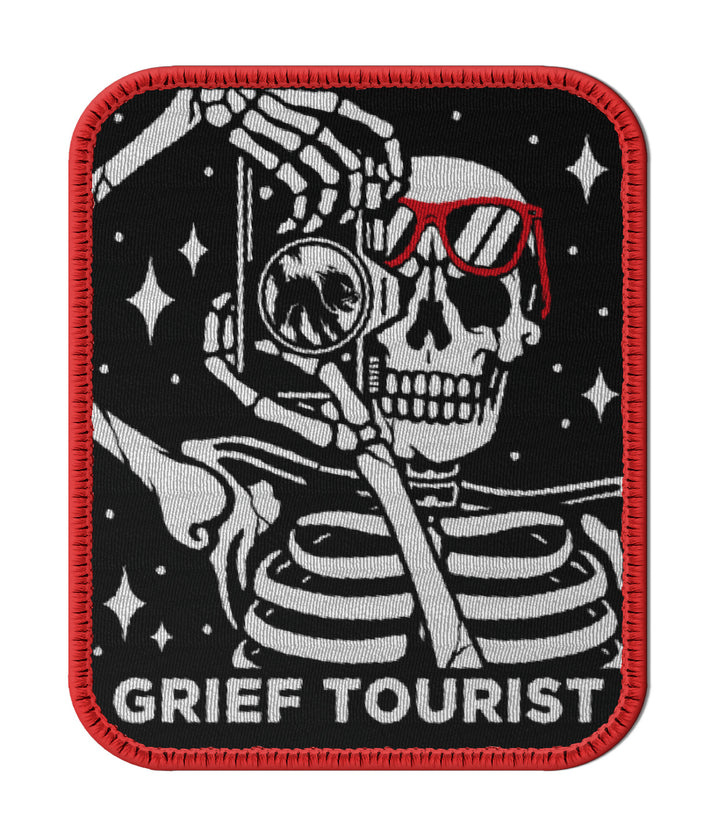 Grief Tourist Patch