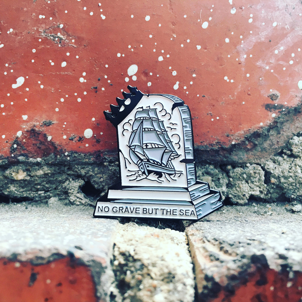 No Grave but the Sea Pin