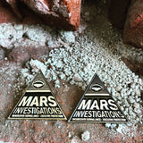 Mars Investigations Pin