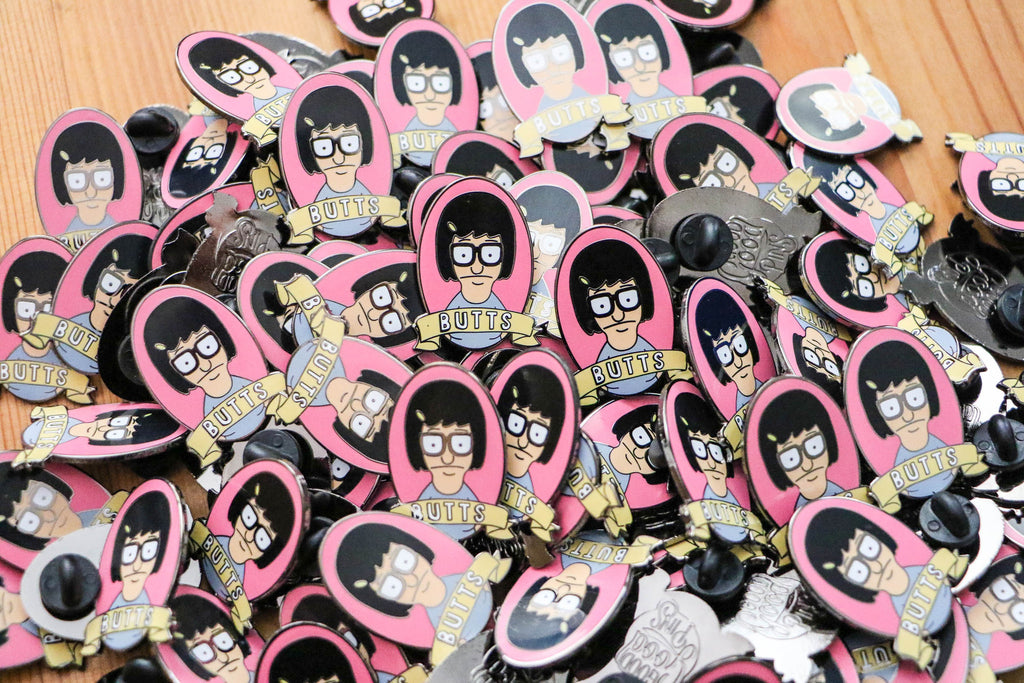 Tina likes butts Pin