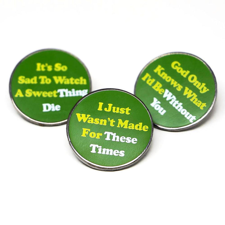Pet Sounds Pins