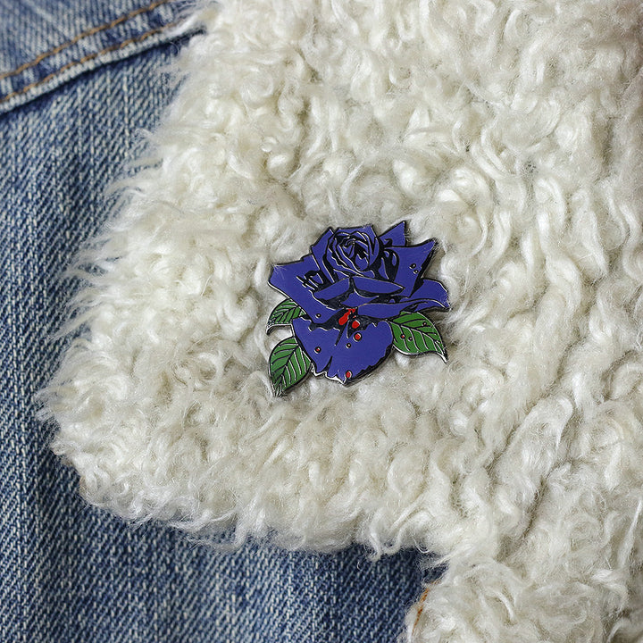 Black Rose: A Rock Legend Pin
