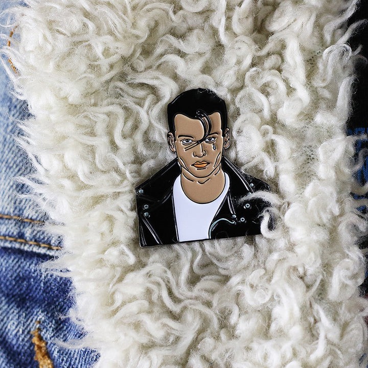 Cry-Baby Walker Pin