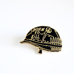 Joker Helmet Pin