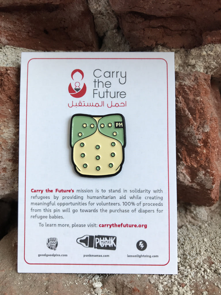 Carry the Future Pin