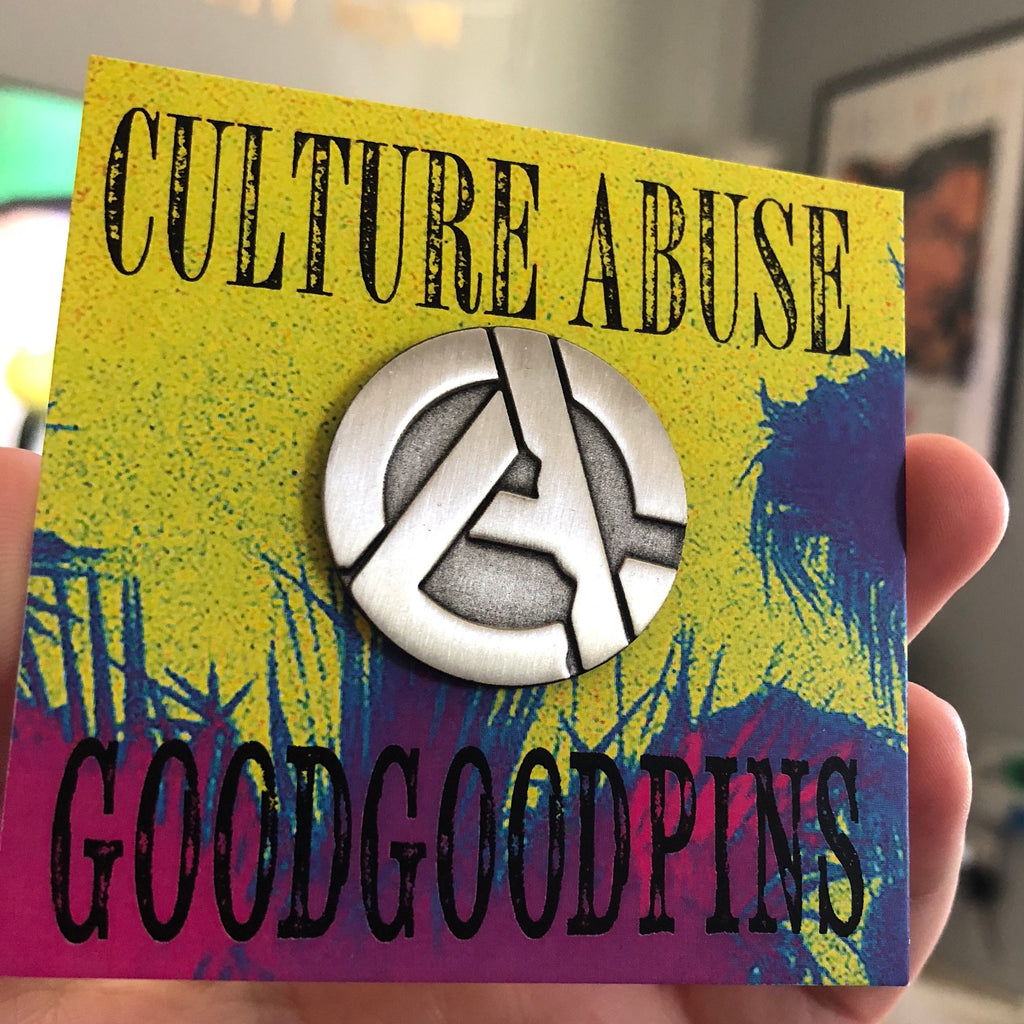 Culture Abuse Pin