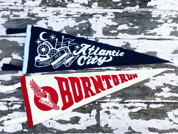 The Boss Pennants