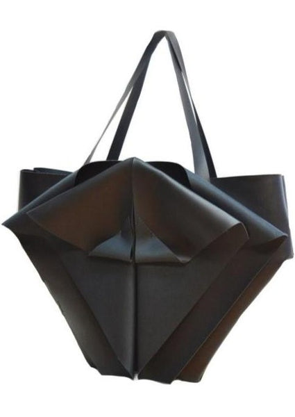 Large Triangular Geometric Vegan Tote