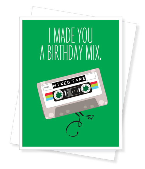 Mix tape Birthday