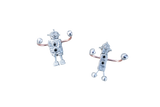 Pair of Robot Wall Hooks - Chateau Hi