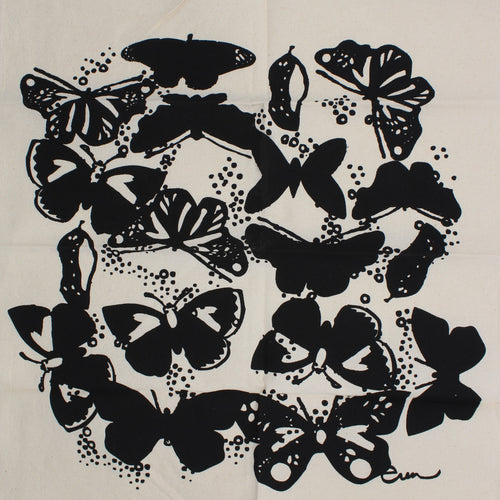 Butterfly Napkins: Black
