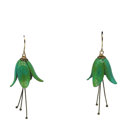Gentian Flower Earrings - Chateau Hi