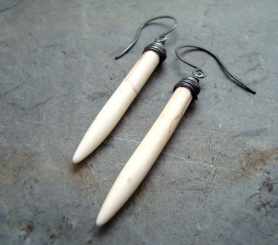 Long Dagger Earrings - Chateau Hi