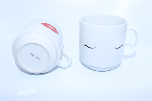 Eyes and Lips Stackable Coffee Cups - Chateau Hi