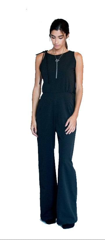 Mesh Back Jumpsuit - Chateau Hi
