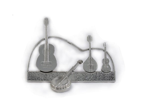 Guitar Measuring Spoons with Stand