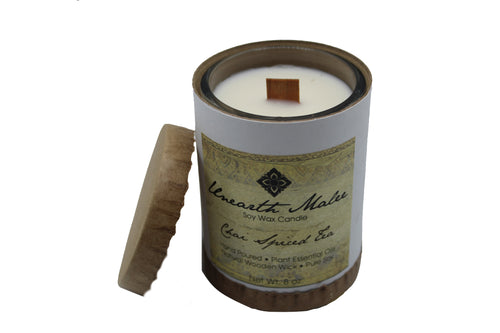 Chai Spiced Tea Essential Oil Soy Candle - Chateau Hi