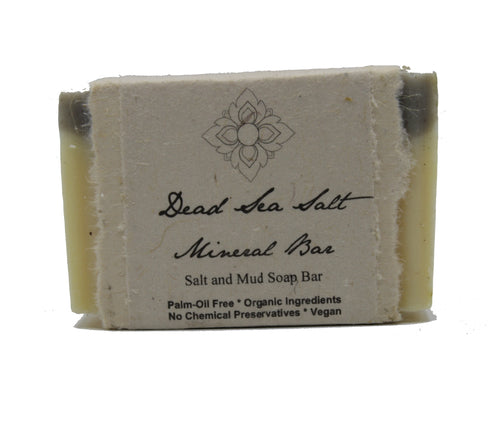 Dead Sea Minerals Salt and Mud Soap - Chateau Hi