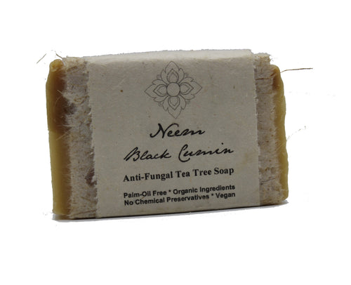 Neem Black Cumin Anti-Fungal Tea Tree Organic Soap