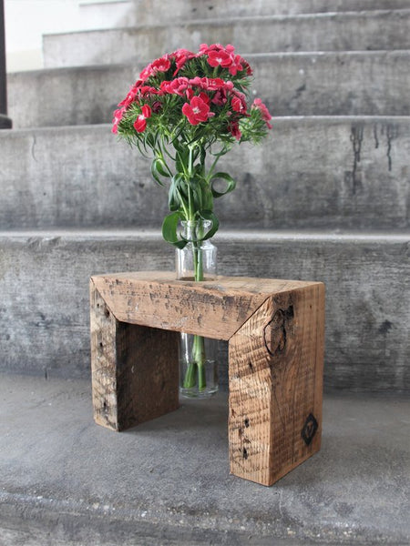 Rectangular Wooden Bud Vase - Chateau Hi